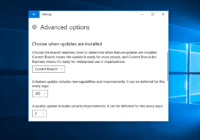 How to Defer Updates in Windows 10