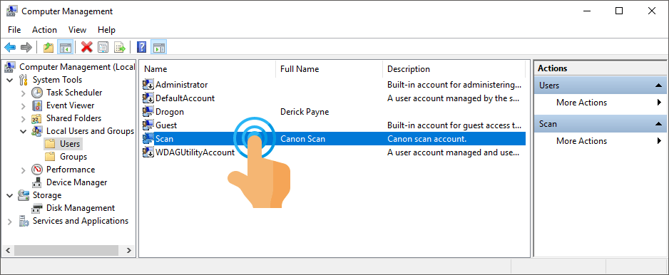 Solve Network Scan to Folder not working – Rizonesoft