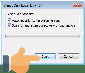 Fix Hard Drive Corruption and File System Errors – Rizonesoft